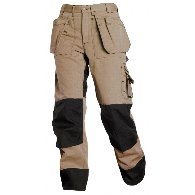 Blakl 228 Der Heavy Duty Work Pants Khaki Dendrotik