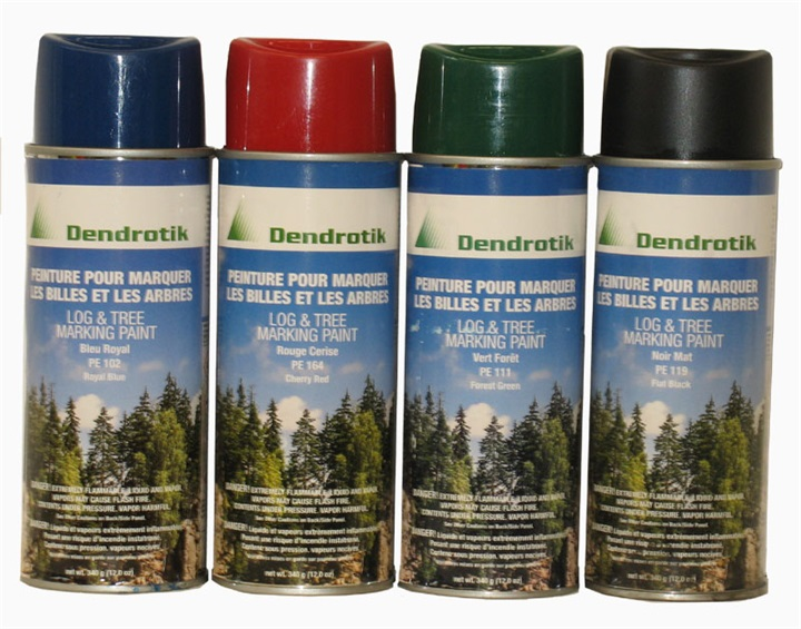 Dendrotik log and tree marking spray paint | Dendrotik